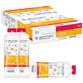 SCITEC Energy Gel Box 12x55ml Raspberry